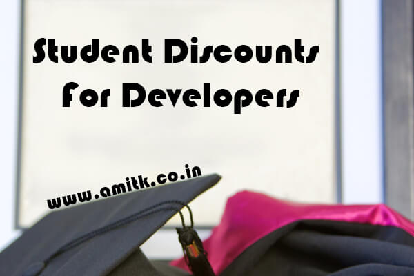 Student Discounts For Developers
